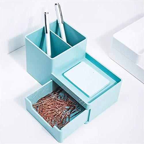 Inicio Papelería Caja de almacenamiento multifuncional Papelería Organizador Moderno Organizador de escritorio Moderno Papelería de artículos de almacenamiento Suministros de almacenamiento Organizado