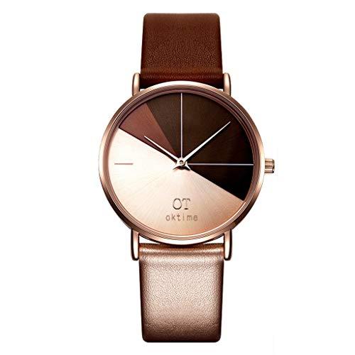 xy 2020 Moda Marca Relojes de Pulsera Señoras Aleación de Acero Cinturón de Acero Arena Reloj de Pulsera de Cuarzo Mujer Reloj Horloges Vrouwen 03 * (Color : Rose)