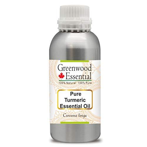 Greenwood Essential Pure Turmeric Essential Oil (Curcuma Longa) 100% Natural Therapeutic Grade Steam Distilled 630ml (21.3 oz)