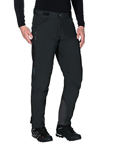 VAUDE Herren Hose Qimsa Softshell Pants II, Black, S, 402810105200