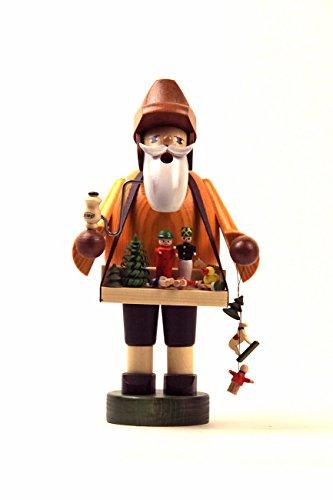 KWO Toy Vendor German Christmas Incense Smoker Handcrafted in Erzgebirge Germany