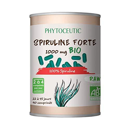 Phytoceutic Spiruline Forte Bio 1000 mg 90 Comprimés 90 Unités