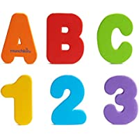36-Count Munchkin Letters and Numbers Bath Toys