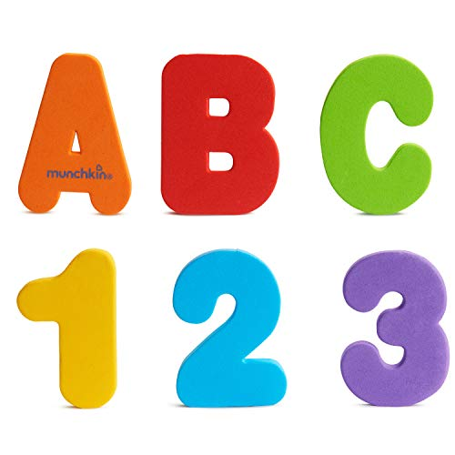Munchkin Letters and Numbers Bath Toys (36 Count) $4.48