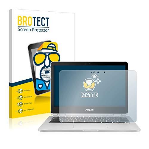 BROTECT Entspiegelungs-Schutzfolie kompatibel mit Asus Chromebook Flip C302 Bildschirmschutz-Folie Matt, Anti-Reflex, Anti-Fingerprint