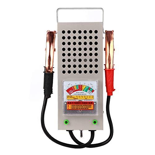WolfGo Battery Tester - 12V Car Battery Tester Automotive Load Analyzer Strumento di Test del Sistema di Ricarica in Lega di Alluminio 200AH