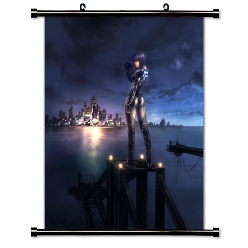 Daaint baby Ghost in The Shell Anime Fabric Wall Scroll Poster (16