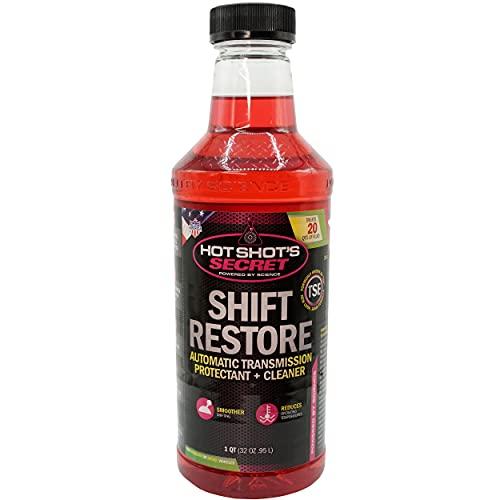Hot Shot's Secret - HSSTSE32Z Shift Restore Automatic Transmission Additive 32 Fluid Ounce Bottle