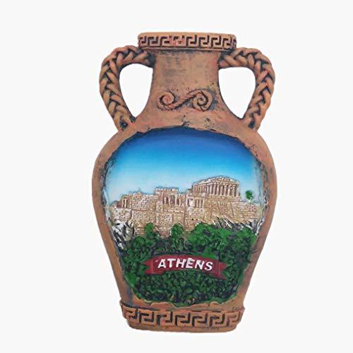 Athens Grecia 3D magnete frigorifero souvenir regalo casa e cucina decorazione adesivo magnetico frigorifero magnete collezione