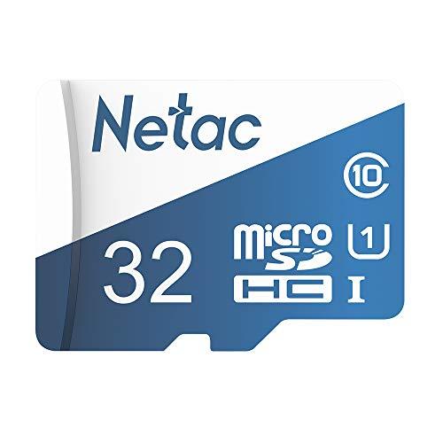 Docooler Netac P500 Clase 10 Tarjeta Micro SDXC TF 16 GB 32GB 64GB 128GB 256GB Tarjeta de Memoria Flash Almacenamiento de Datos de 80 MB/s