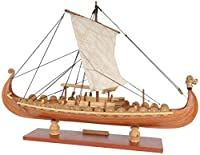 モデル船のリビングルームの装飾船舶モデルボートモデルドラッカードラゴンクラシックヨット船モデル構築キット装飾用の装飾