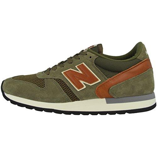 New Balance Schuhe M 770 Made in England Green-Tan (M770GT) 42 Gruen