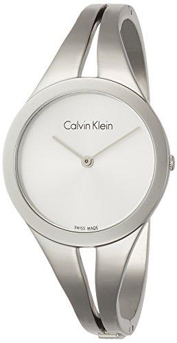 Calvin Klein Orologio Analogico Quarzo da Donna con Cinturino in Acciaio Inox K7W2M116