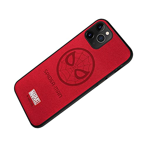 Marvel iPhone Case with Avengers Character Phone case Compatible with Spider Man iPhone 11 case (6.1-Inch) Spider Man-Red
