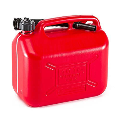 Tanica Bidone Benzina 10 Litri per Trasporto Carburante Gasolio Olio Omologata