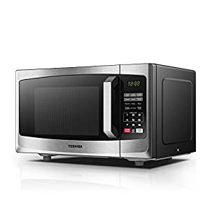 Toshiba Microwave Oven ML-EM23P(SS) 23L Digital Display 800W, Auto Defrost, One-touch Express Cook with 6 Pre-Programmed Auto Cook, Solo Microwave Oven Easy to Clean 23L by Toshiba