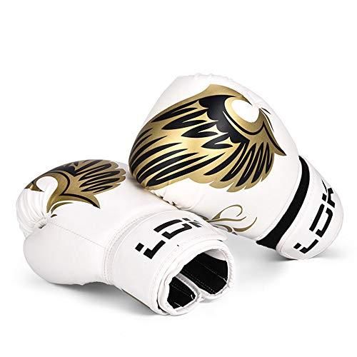 JUNSHUO Guantes de Boxeo para Entrenamiento y Muay Thai, para Kick Boxing, Sparring   Boxing Gloves para Combate Training, para Bolas de Velocidad de Doble Extremo y Almohadillas de Enfoque
