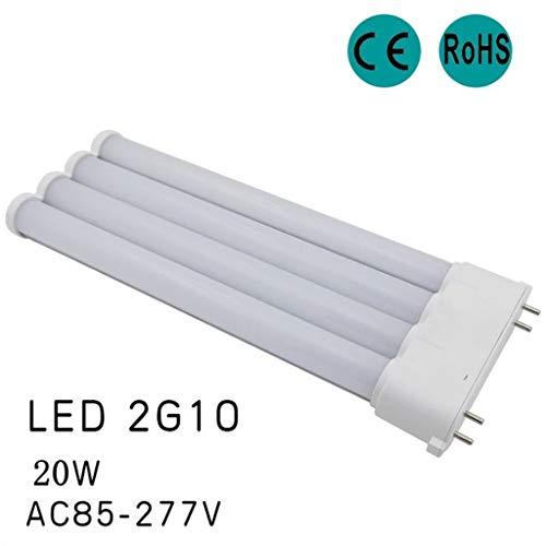 Xiangfeishangmao LED 2G10 Lampe 4 Pin Basis Mais Lampe 96 LED Energiesparlampe 20W AC 90-265V (gleichwertiger Ersatz 36W Halogenlampe) SMD 2835 kaltweiß/warmweiß/naturweiß (Size : Cool White)