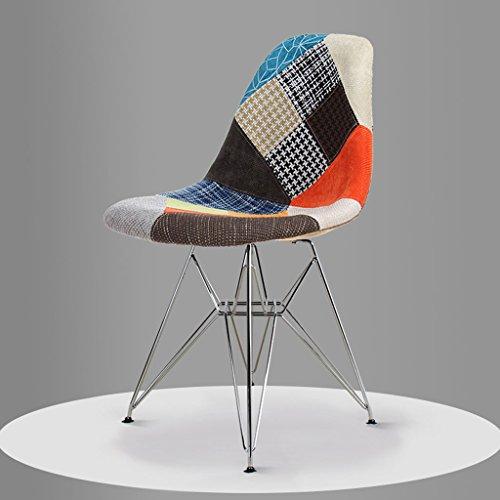 PLL Moderne minimalistische eetkamerstoel en stoelen eetkamer stoel kruk terug Nordic stoel