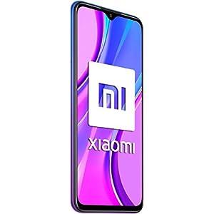 """Xiaomi Redmi 9 - Smartphone de 6.53"""" FHD+, 4 GB y 64 GB, Cámara cuádruple de 13 MP con IA, MediaTek Helio G80, Batería de 5020 mAh, 18 W de Carga rápida, Púrpura [Versión ES/PT]"""