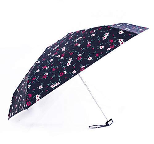 Tasche Regenschirm Falten Regen Sonnenschirm Doppel Verwenden Markise Regenschirm Für Frau Und Mädchen