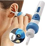 Tragbarer Staubsauger Ohrreinigungsmaschine Elektronische Reinigungsmaschine Ohrenschmalzentferner Reiniger für Ohrstöpsel Verhindern Sie die Wartung von Reinigungsgeräten für Ohrstöpsel
