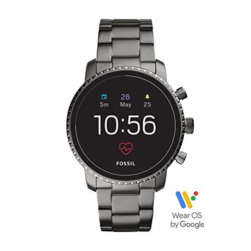 Fossil FTW4012 Digitaal smartwatch polshorloge met roestvrij stalen armband