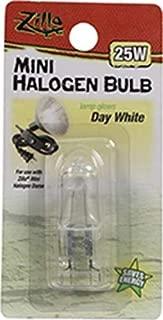 Zilla Mini Halogen White Day Bulb, 25 Watts