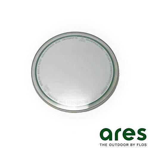 Ares Petra Einbaustrahler nur Ersatzglas für hohe Temperaturen