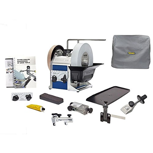 Tormek Sharpening System Chefs System TBC807 T8 A Complete Water Cooled Sharpener with Three Knife...