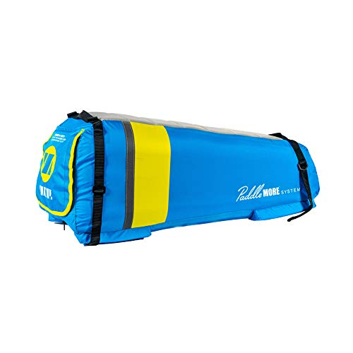 """ZUP PaddleMORE Inflatable Stand-Up Paddleboard Seat, 12"""" x 12"""" x 30"""", Blue/Yellow (Paddleboard not Included)"""