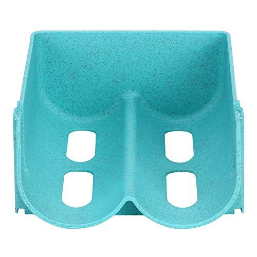 Porta lattine Pratico ripiano in plastica impilabile Portabottiglie per birra Frigorifero Scatola per bevande in scatola Organizer(Blue)