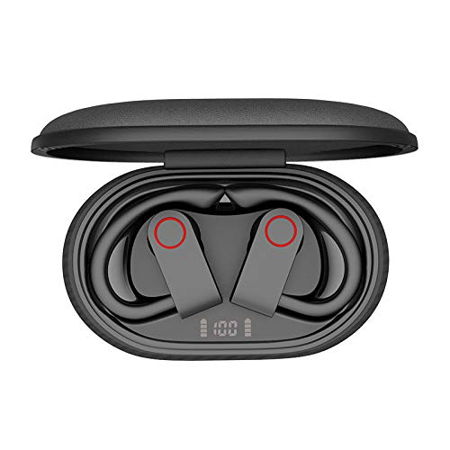 Wireless Earbuds,Aznze Bluetooth Sport 5.0 Earbuds with Charging Case LED Battery Display 10H Playtime in-Ear Bluetooth Headset IPX8 Waterproof True Wireless Earbuds for for Running/Working Out
