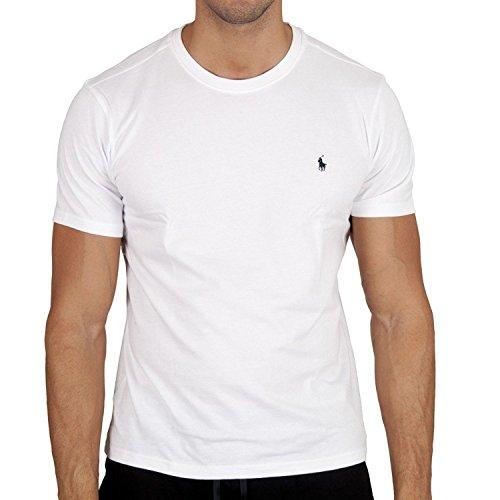 Polo Ralph Lauren Short Sleeve Crew sous-Vêtements De Sport, Weiß (White A1000), M Homme