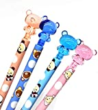 4Pcs Cute Kawaii Lovely Bear Press Mechanical Pencil Writing Student Stationery 0.7mm Automatic Pencil Drafting Pencils For Draft Drawing, Carpenter, Crafting, Art Sketching School Office Supply