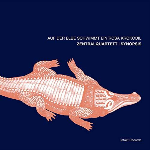 Auf der Elbe schwimmt ein rosa Krokodil
