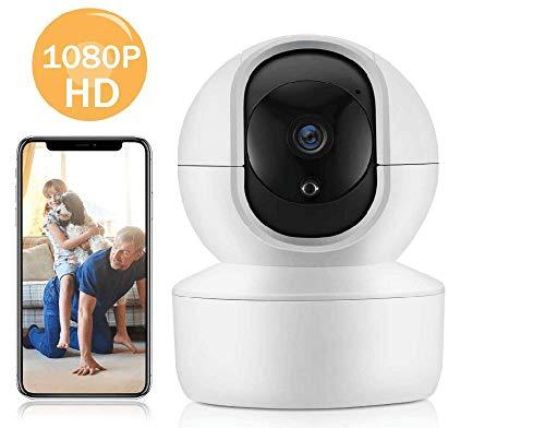 Draadloze bewakingscamera, 1080P Dome WiFi Indoor IP Pet Camera, WiFi Home Indoor Camera voor Baby/Pet/Nanny, Bewegingsdetector, Home Shop Office Surveillance