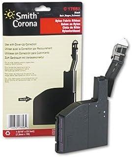 Cinta de nailon para Smith Corona Coronamatic 2500/7000/8000y otros Máquinas de escribir–Nailon, negro (se vende en paquetes de 3)
