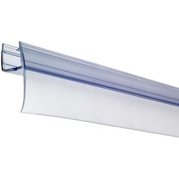 Croydex - Juego de Junta de fricción rígida para Puertas de duchas (Paneles de 4, 5 y 6 mm de Grosor, 100 cm): Amazon.es: Bricolaje y herramientas