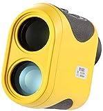 Dljyy 7X Ampliación HD Golf telémetro, 600M láser Equipo de Medida del Instrumento Golf telémetro Telescopio teleobjetivo prismaticos Safari