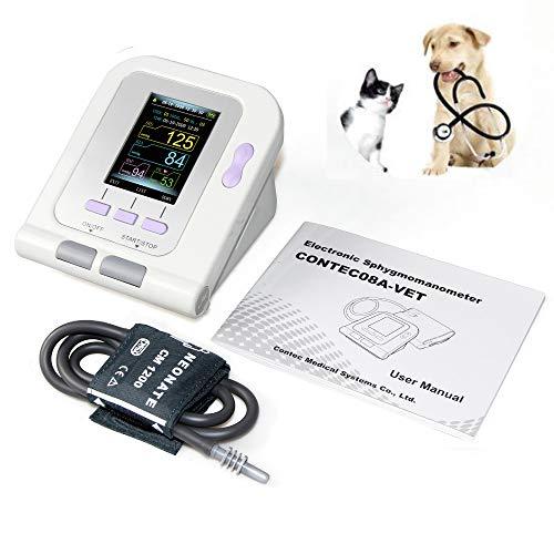 LWQ Électronique sphygmomanomètre, Chat/Chien/Animaux/Vétérinaire Automatique Tensiomètre électronique sphygmomanomètre tonomètre
