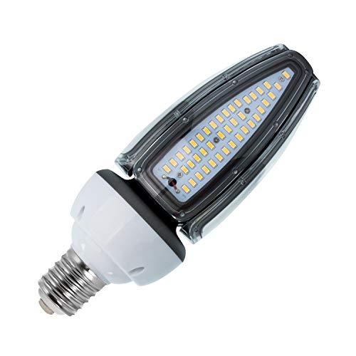 LEDKIA LIGHTING Bombilla LED Alumbrado Público Corn E40 50W IP65 Blanco Neutro 4500K - 5000K