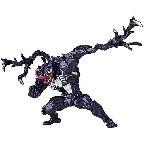 GYLMXF Hecho a Mano Ocean Doyamaguchi Extraordinary Spiderman Slaughter Movable Collectible ToysCm