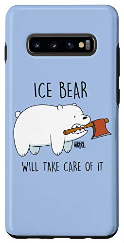 Galaxy S10+ We Bare Bears Take Care of It Case