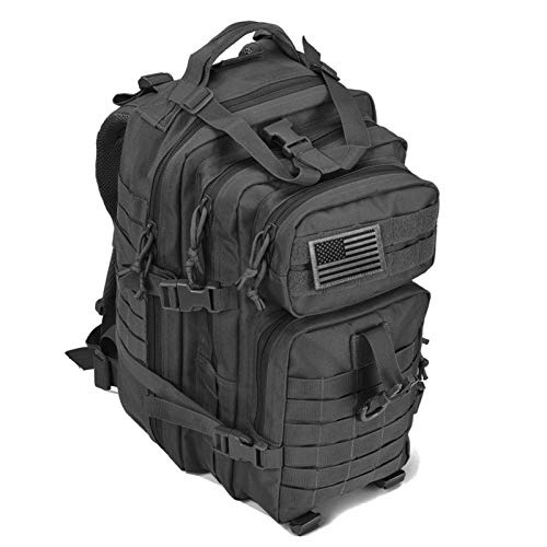 Tactical Backpack Army Military Assault EDC Rucksack Men Outdoor Large Capacity 40L Pack Hunting Trekking Camping Ba