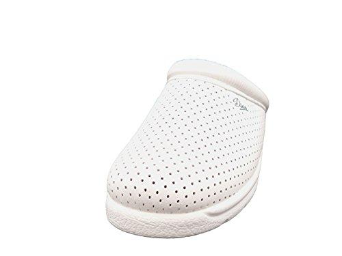 Selquir , Unisex-Erwachsene clogs , weiß - weiß - Größe: 38