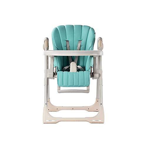 ZXQZ Baby Hochstuhl - Home Baby Esstisch und Stühle Multifunktionsbaby Tragbare Klappbaby Esstischstuhl Kinder Esstischstuhl 6 Monate-3 Jahre alt Kann 50 kg tragen
