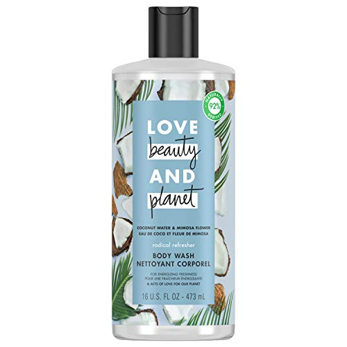 Love Beauty And Planet Radical Refresher Body Wash Coconut Water & Mimosa...