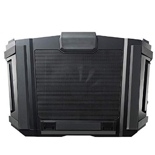Enfriador de portátiles Gaming Laptop Cooling Pad (Cooler Master SF-17) Con 180 mm ventilador y 4 ergonómico Altura Ajustes...
