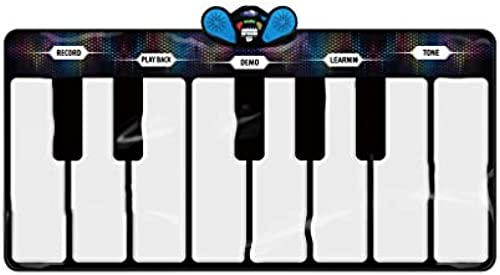 HXGL-Tastatur Kinder Spielzeug Klaviertastatur Gamepad Lernen Gesang Teppich Touch Spielen Krabbeln Matte über 3 Jahre Alt (Größe   A)